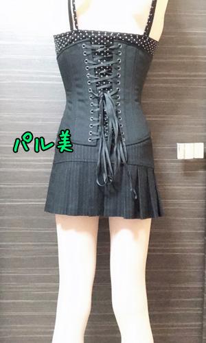 コルセット女装