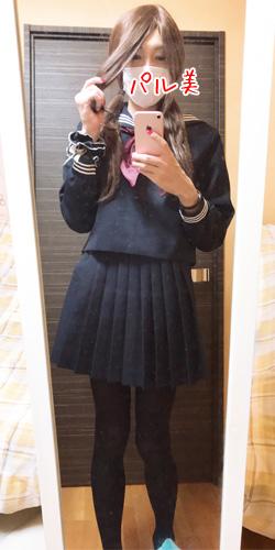 女装セーラー服冬